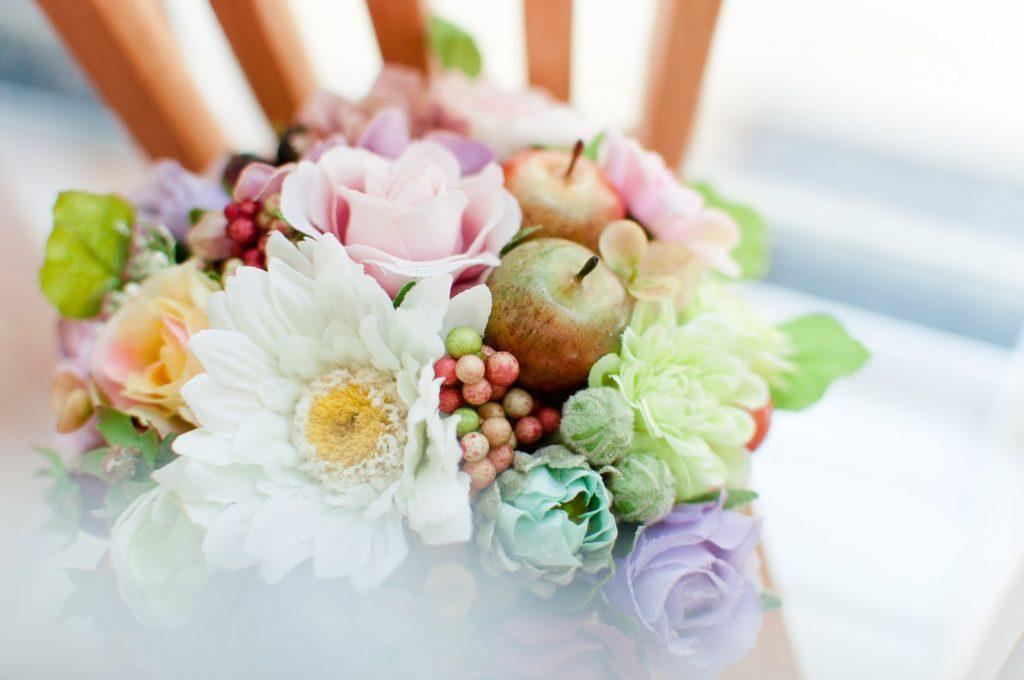 愛するハムスターにささげる花