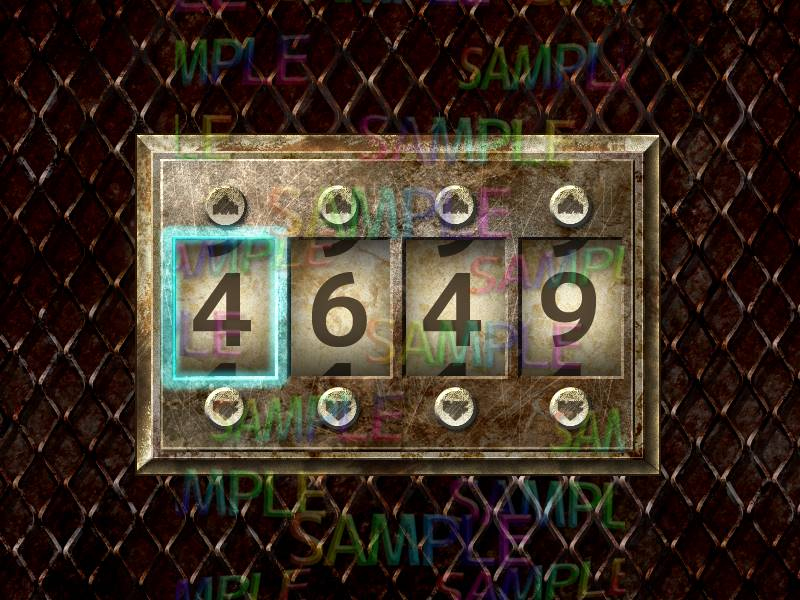 ウディタでパスワード(暗証番号)コモンを作成。『ホラー探索GUI・イラスト素材集』を加工