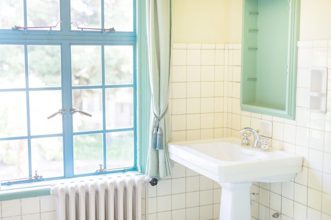 お風呂場のミニマム化計画。何も置かないくつろぎ空間