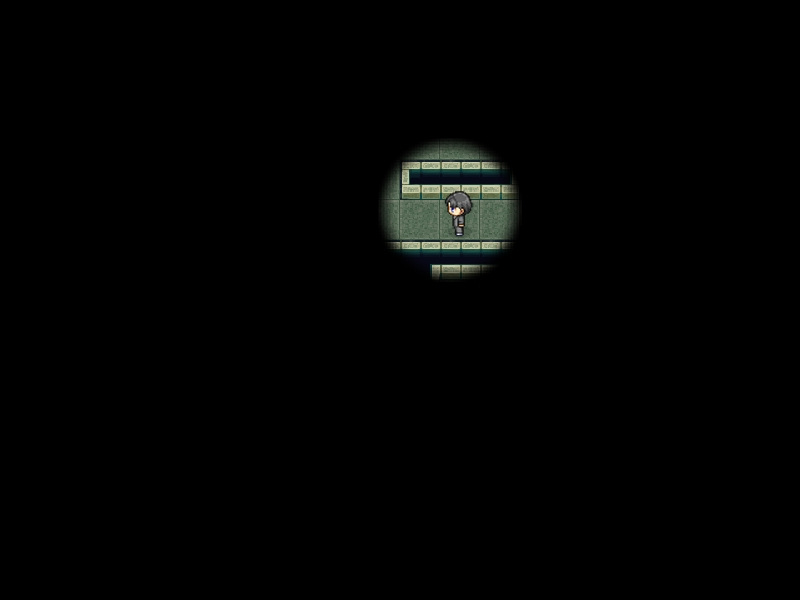 ウディタで視界を制限して暗闇を表現するコモンを作るには? 並列実行で呼び出そう